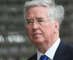 New British Defence Secretary Fallon Visits Berlin